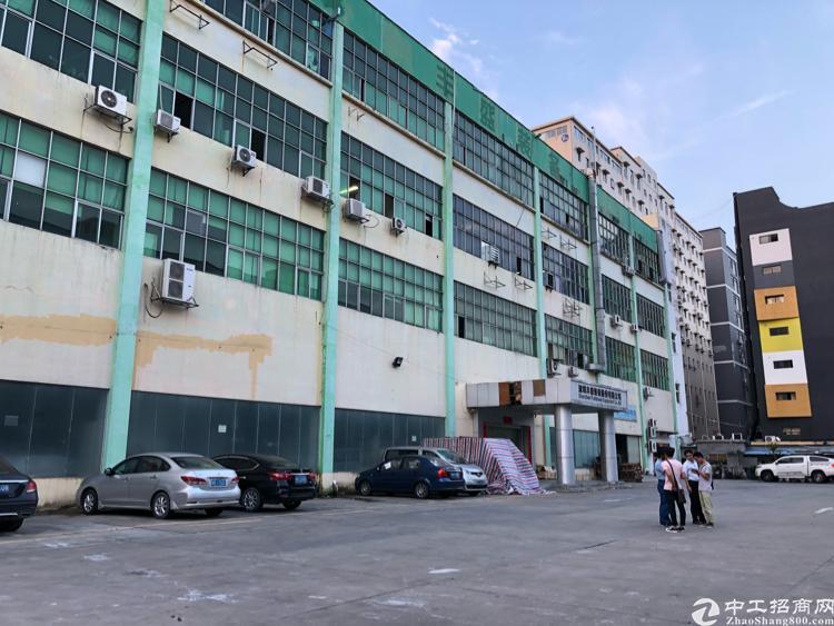福永宝安大道边上新出楼上700平米带装修厂房出租