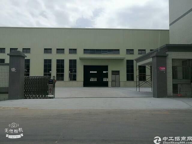 企石原房东标准厂房独院8000平方(空地3000平方)