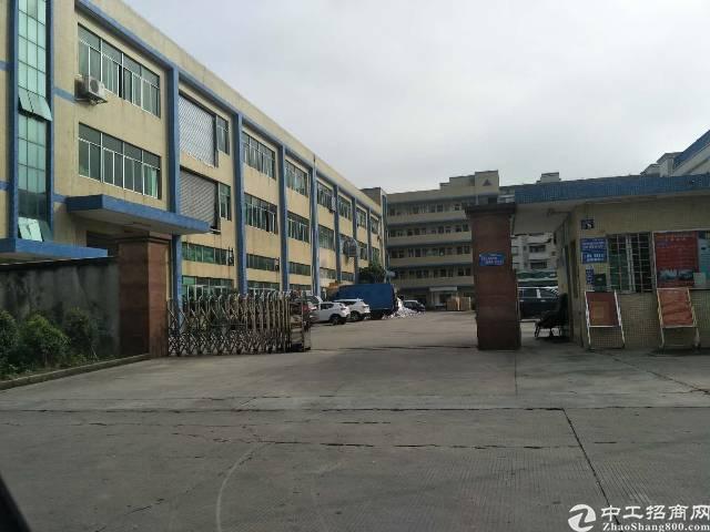 东莞市石排镇8成新水电线路齐全带航车的厂房招租