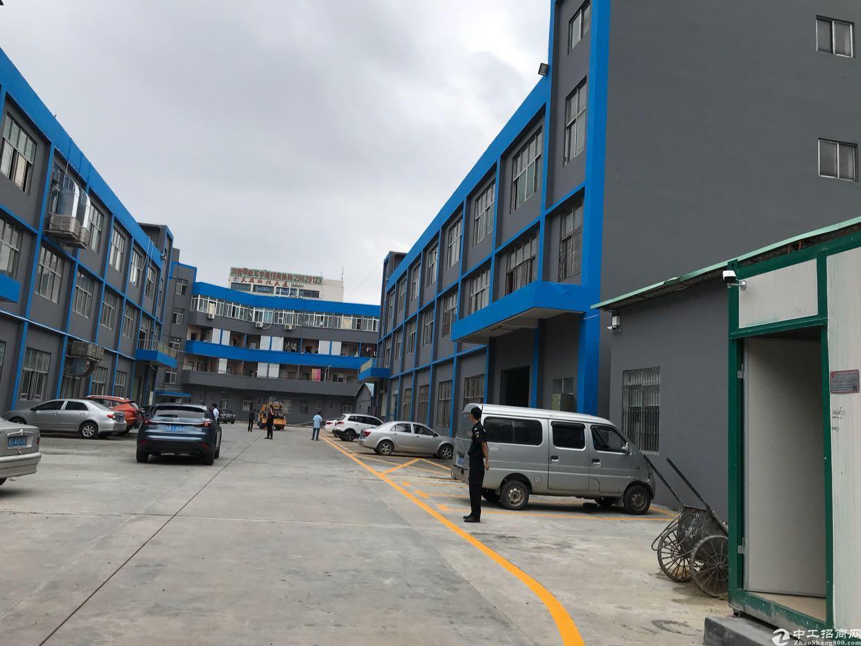 松岗107国道旁新出楼上800平精装修厂房,大小分租-图5