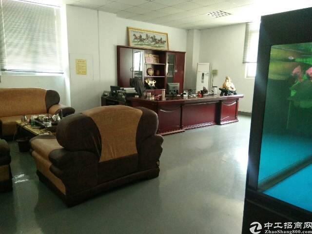 福永和平楼上整层2000平精装修贴片厂转租-图2
