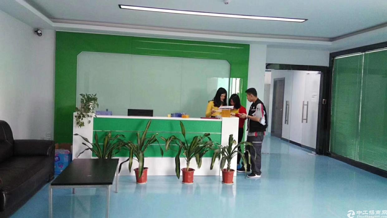 福永和平豪华装修1600平独立货梯办公贸易