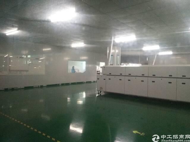福永和平楼上整层2000平精装修贴片厂转租