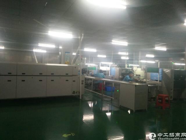 福永和平楼上整层2000平精装修贴片厂转租-图7