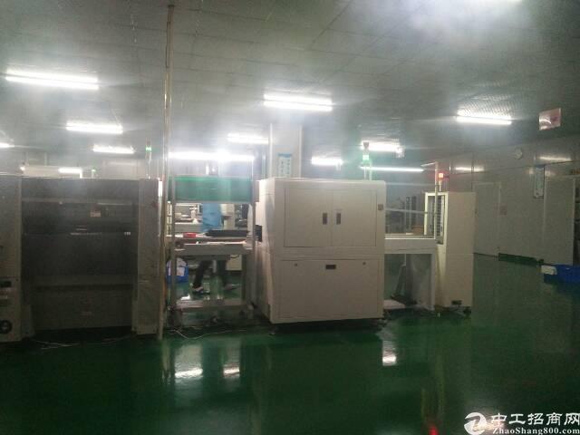 福永和平楼上整层2000平精装修贴片厂转租-图8