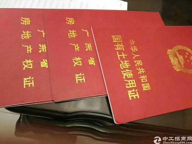 出售东莞凤岗工业厂房(以租代购,首付5成)50年红本产权