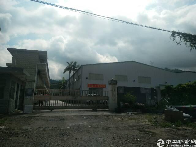 惠州惠阳镇隆深惠路边可做污染行业钢构厂房3600平米