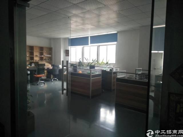 公明松柏路边上新出楼上1000平米带装修办公室厂房出租-图4