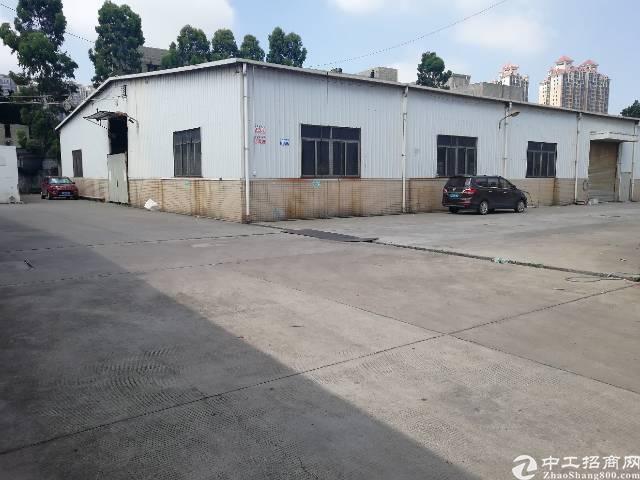 沙井北环路边后亭工业区仓库厂房一楼2000平方出租