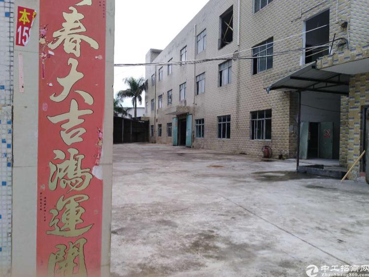 坪山独院厂房出租3800平米 原房东