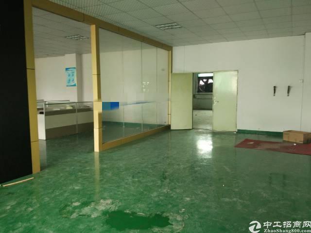 东莞长安沙头二楼1000平米带精装修厂房13块招租-图3