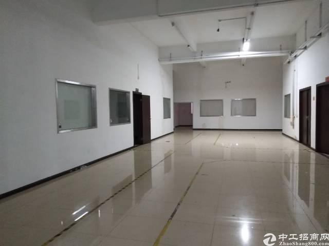 南山西丽旺棠工业区新出2200平带装修一楼厂房出租