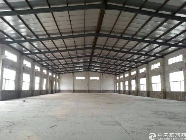 惠阳秋长独院钢构厂房2500平米出租