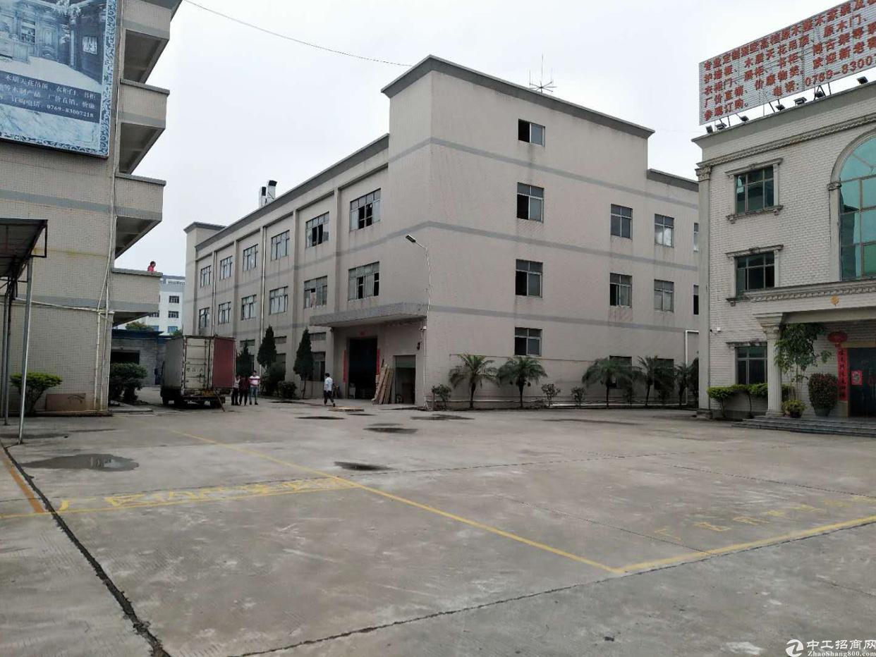 桥头新出带喷油环评标准独院厂房7000平米 带独立办公楼