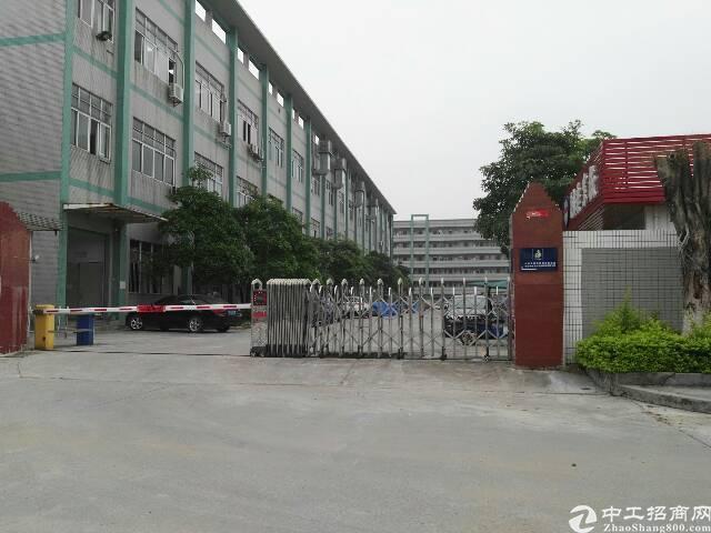 高埗镇大型工业园区内二标准厂房低价出租