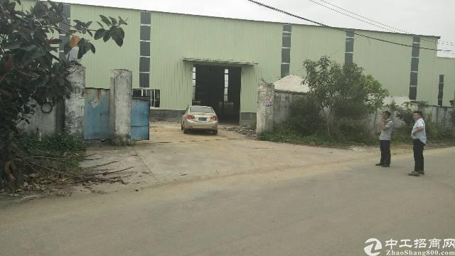 园洲六千平钢构厂房出售