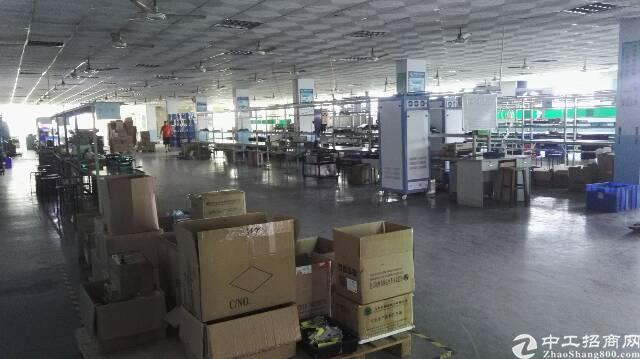 罗田象山大道原房东大型工业园二楼整层1300平方厂房出租有装