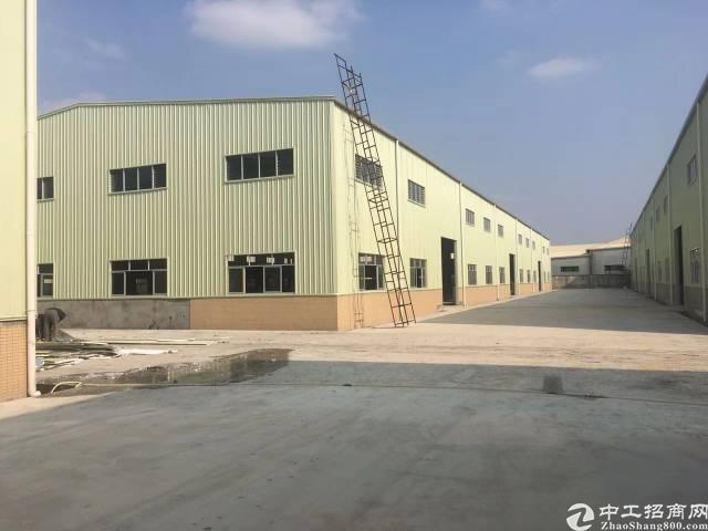 沥林镇十二米钢构厂房招租