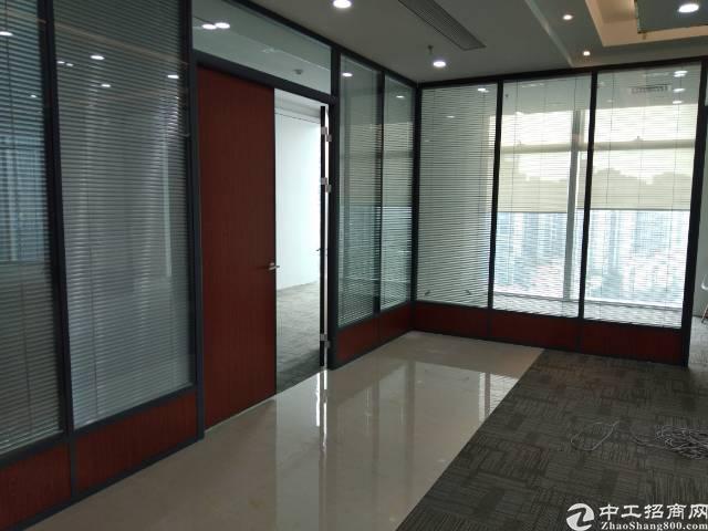 宝安中心宝华地铁口高层精装修甲级写字楼258平方招租