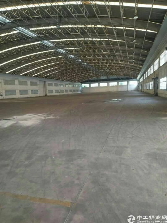 龙华清湖新出一楼12000平方物流仓库可分租