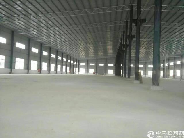 坪地六联新出15000平独院钢构厂房滴水8米出租