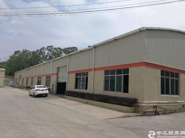 大型工业区厂房