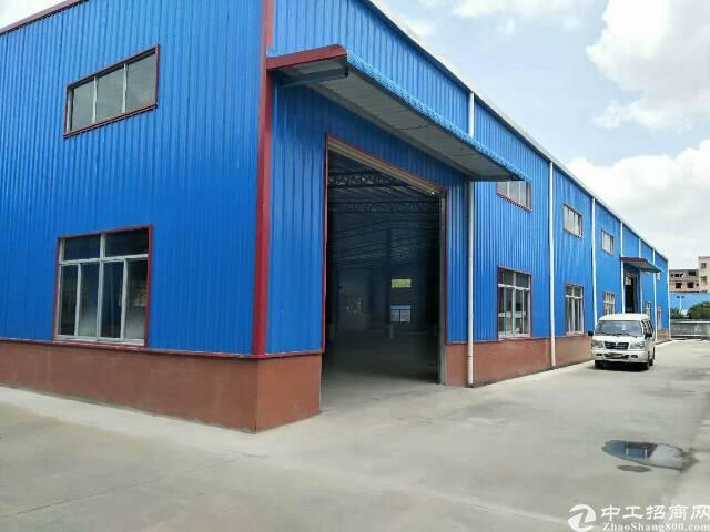 樟木头镇钢构独院厂房5200平方厂房宿舍出售