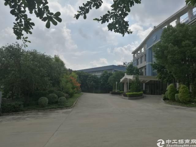 黄江花园式独院内分租独栋厂房5000平方