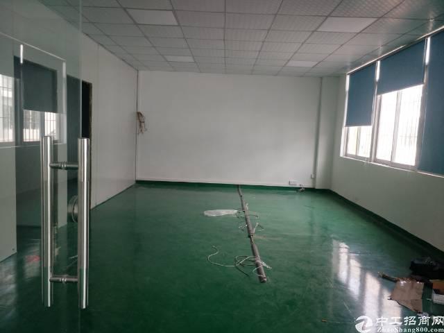 福永凤凰带办公室地坪漆全新1楼750平