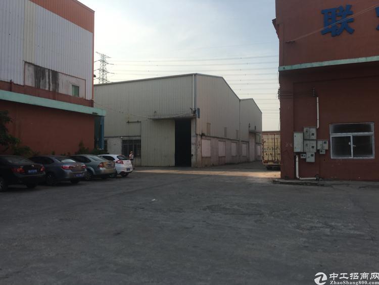 塘厦田心新出单一层钢构1900平带地坪漆,成熟工业区交通便利