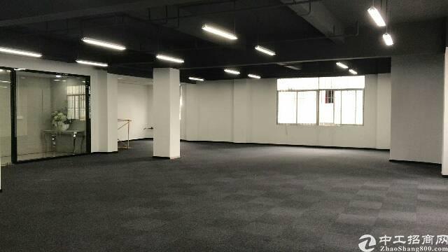 (出租)业主直租福永湖景带超大停车场精装修办公写字楼