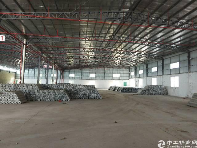 樟木头镇裕丰管理区7米高带消防喷淋钢构仓库1300平方出租