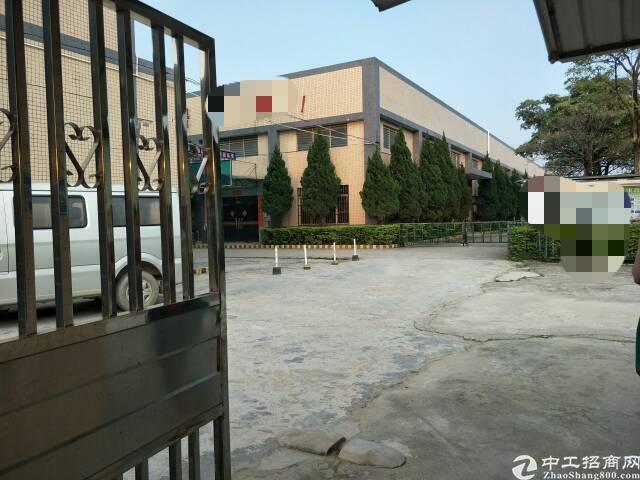 东莞市占地9000平米单一层厂房出售