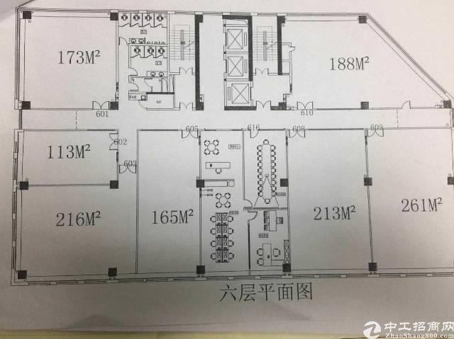龙岗南联地铁50米写字楼300平出租