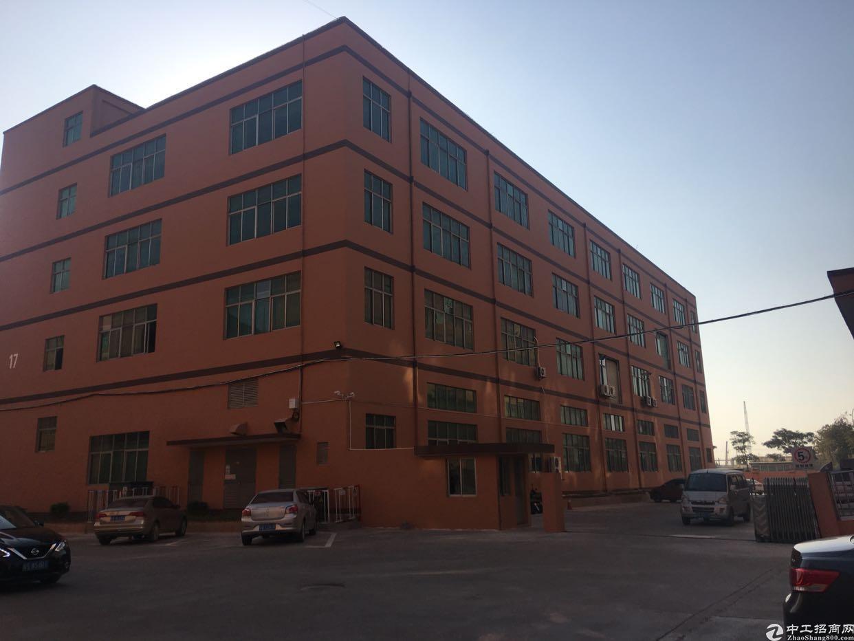 福永新和独院厂房11500平厂房空地大