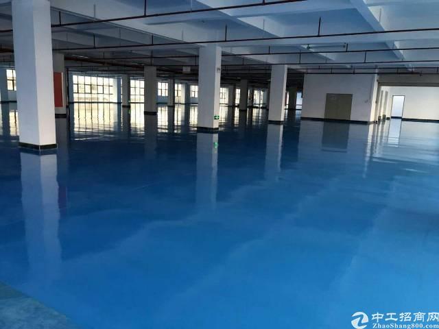 坪山大工业区三楼5730平方分租,红本,有补贴