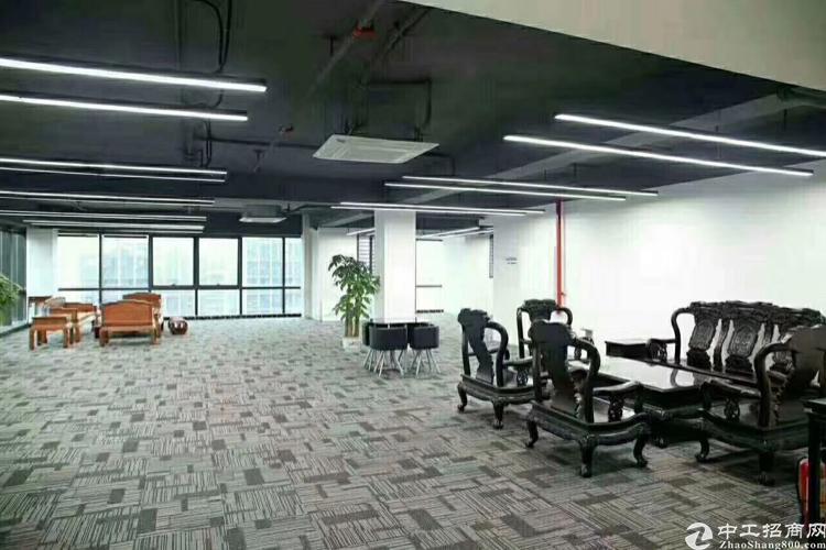 龙华清湖地铁站红本写字楼1018平方米,精装修