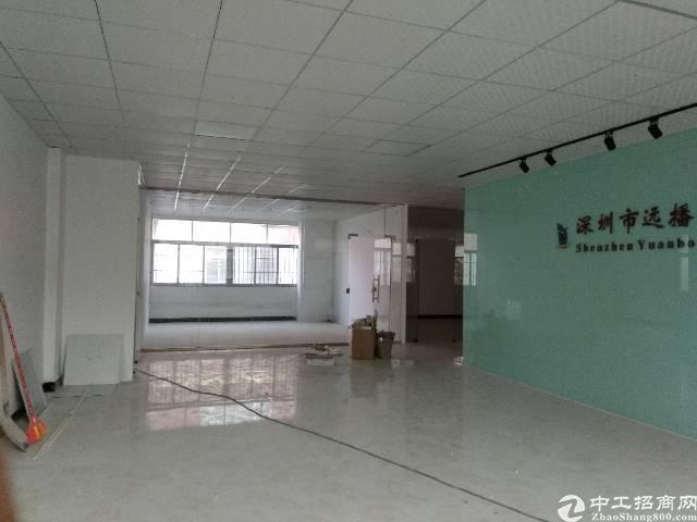 松岗精装二楼800平标准厂房