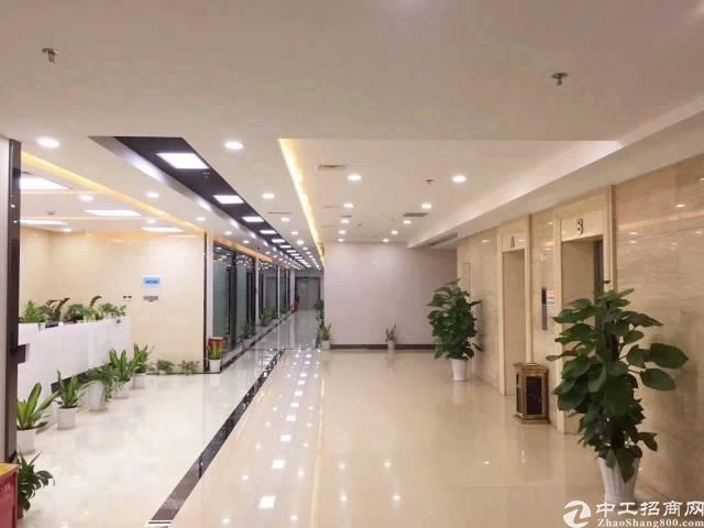 横岗大运地铁站软件小镇精装修写字楼360平方带精装修出租!