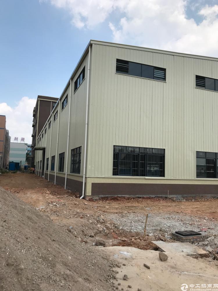 东莞横沥独门独院钢结构厂房6700平方