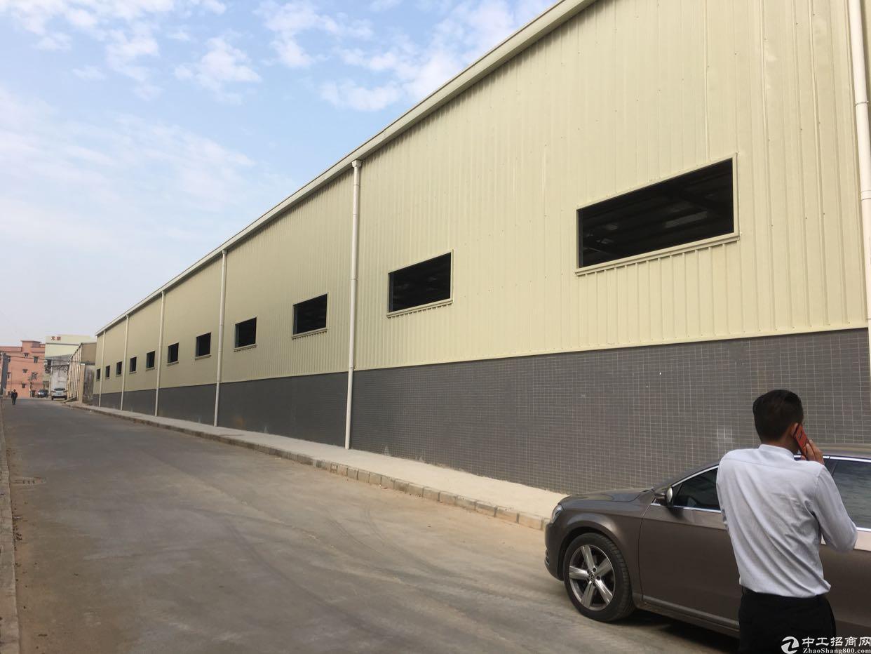 横沥镇新出单一层厂房3000平方米出租