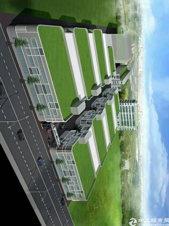 松岗107国道边全新独门独院2万平米厂房出租可大小分租