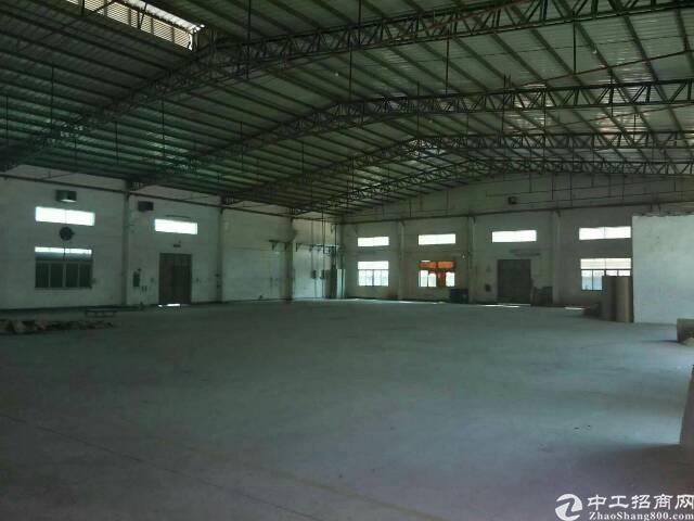大朗新出独院单一层厂房2000平方滴水7米