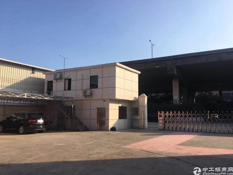 新塘镇西洲豪装独院钢构厂房