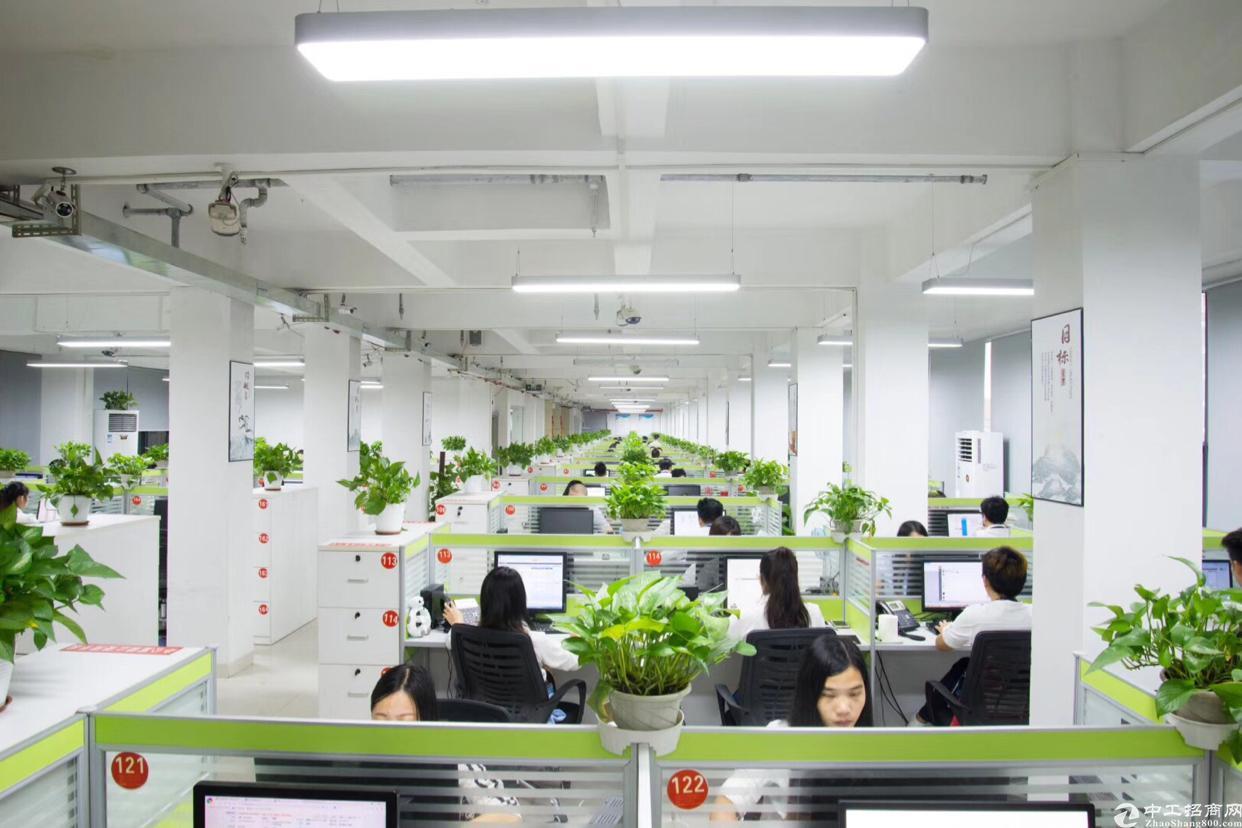 清湖地铁口980平办公室出租