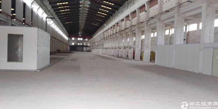 常平镇滴水15米重工业厂房带行车10000平方急租