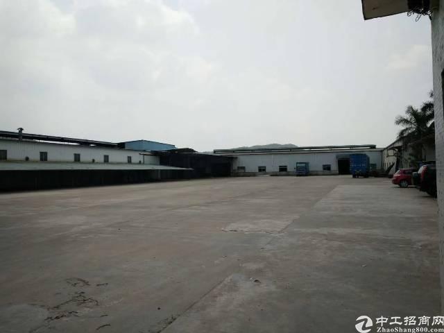 龙华清湖新出单一层钢构厂房及宿舍约12888平米,可分租