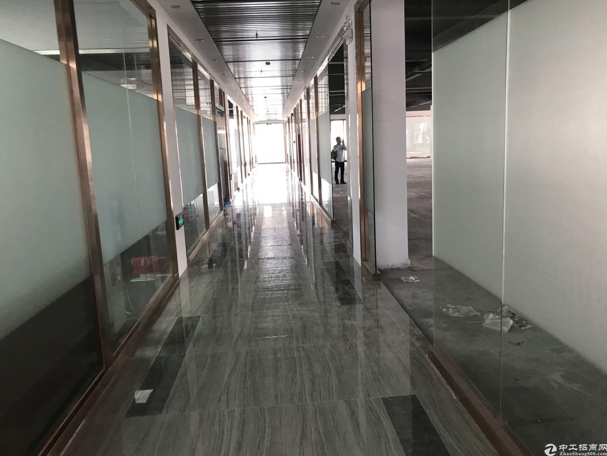 龙华军龙医院旁办公室整层2800平,300平起分,带红本