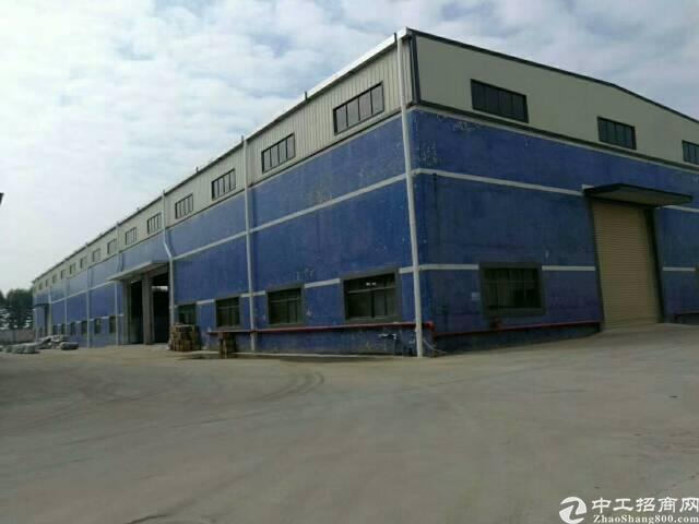 石排砖墙到顶单一层厂房7200平,高12米,空地5000平