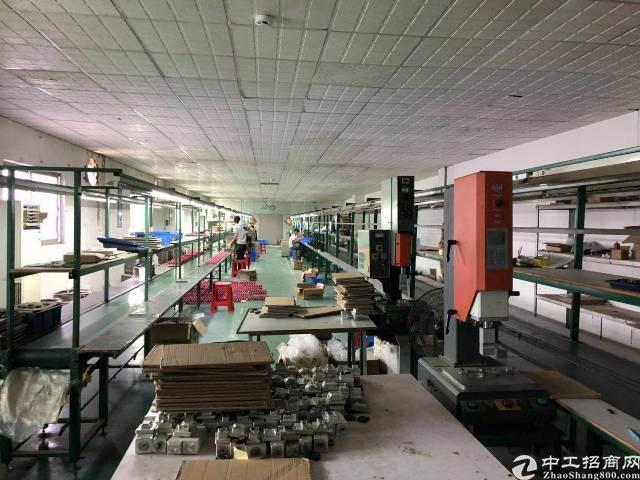沙井大王山第一工业区2楼800平厂房招租